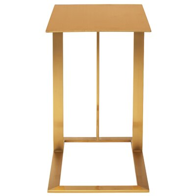 Celine End Table Color: Gold