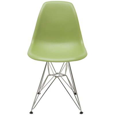 Max Side Chair Upholstery: Green