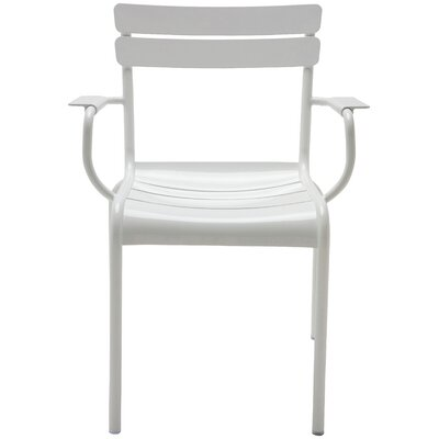 Marcel Arm Chair Finish: White