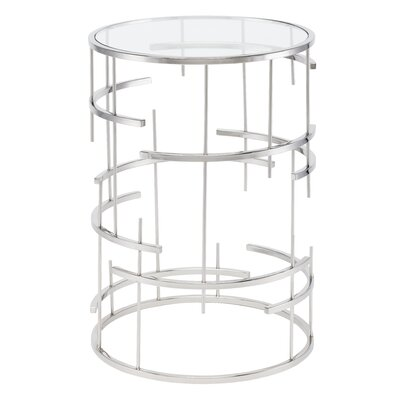 Tiffany End Table Color: Stainless