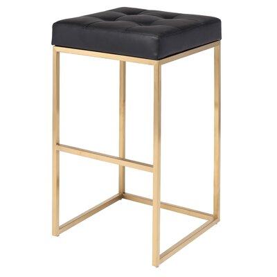 Chi 29.75 Bar Stool Upholstery: Black