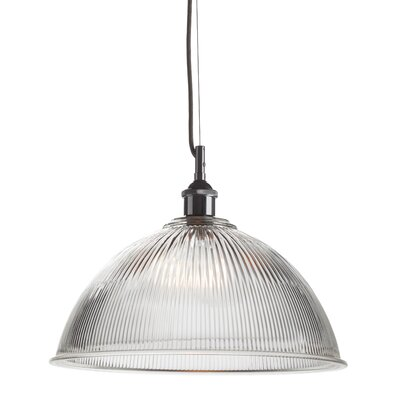 Harrison 1-Light Pendant Shade Color: Clear