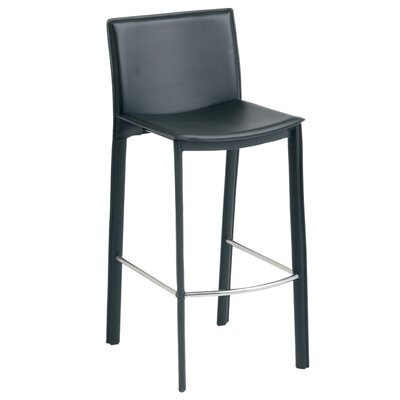Bad credit financing Bridget Bar Stool Finish: Black...