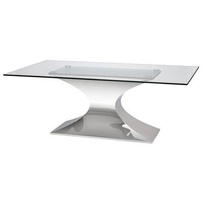 Praetorian Dining Table Size: 78 L x 42 W x 30 H