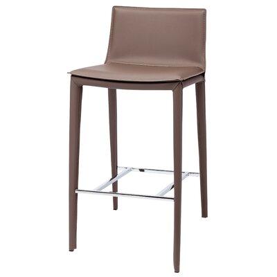 Palma 37.75 Bar Stool Upholstery: Mink