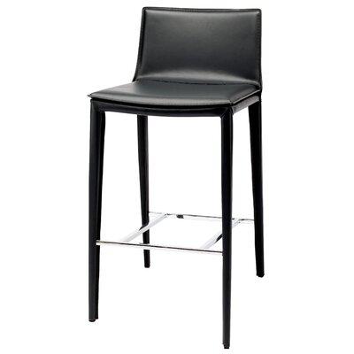 Palma 37.75 Bar Stool Upholstery: Black