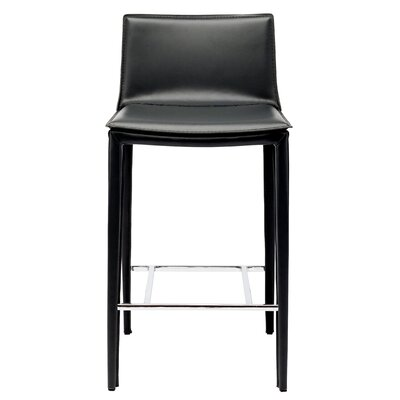 Palma 25.75 Bar Stool Upholstery: Black