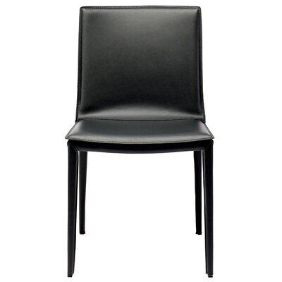 Palma Parsons Chair Finish: Black