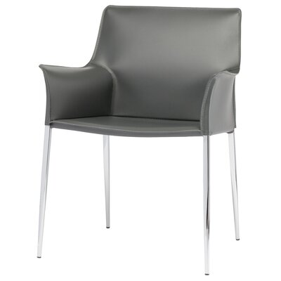 Colter Arm Chair Upholstery: Grey