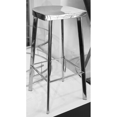 Icon Bar Stool Finish: Polished