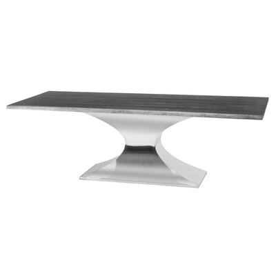 Praetorian Dining Table Finish: Silver