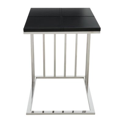 El End Table Finish: Black