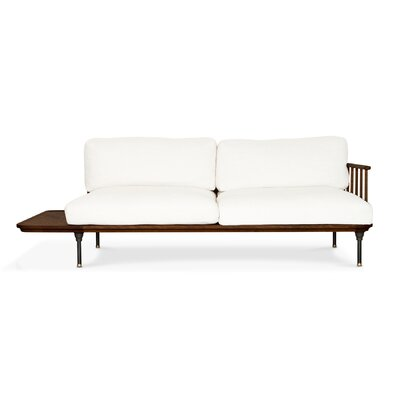 Keven Sofa Bed Finish: Smoked Oak