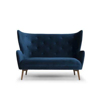 Theron Sofa Upholstery: Midnight Blue
