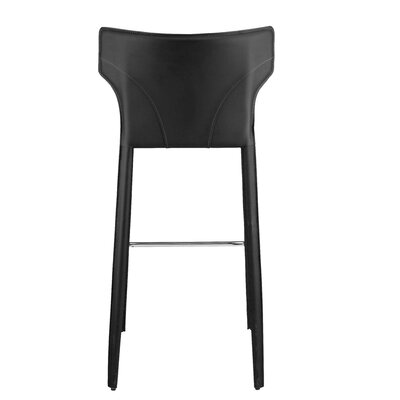 Wilfried 25.5 Bar Stool Upholstery: Dark Gray