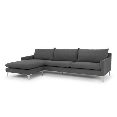 Buehler Sectional Upholstery: Slate Gray