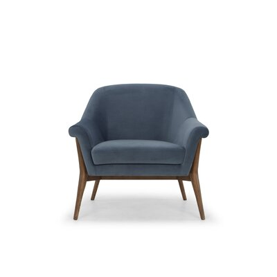 Isaias Armchair Upholstery: Midnight Blue