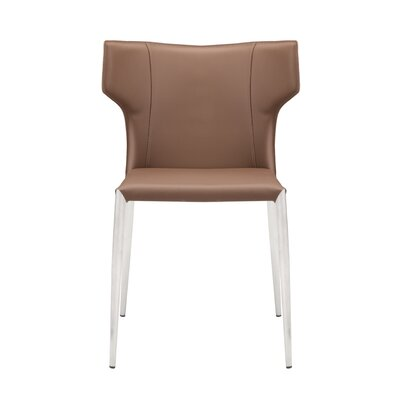 Wilfried Upholstered Dining Chair Upholstery Color: Mink