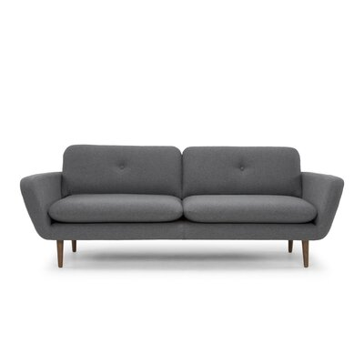 Ernie Sofa Upholstery: Shadow Gray