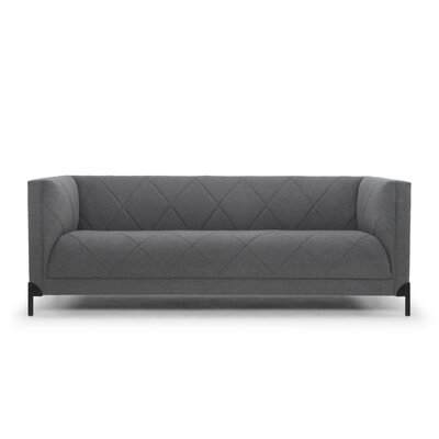 Ducote Sofa Upholstery: Shadow Gray