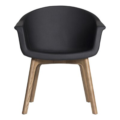 Terell Armchair Upholstery: Black