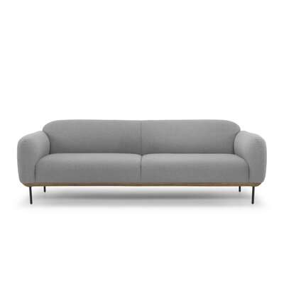 Uriel Sofa Upholstery: Light Gray
