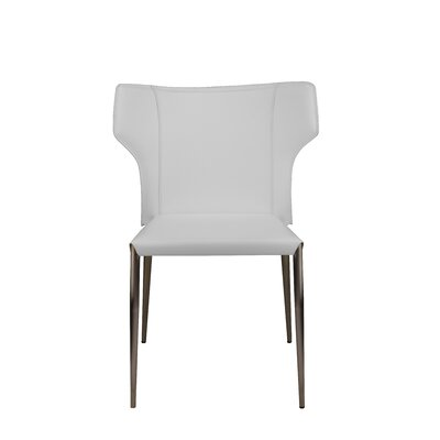 Wilfried Upholstered Dining Chair Upholstery Color: White