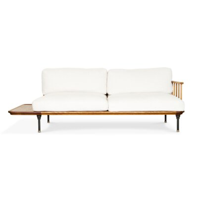 Keven Sofa Finish: Fumed Oak