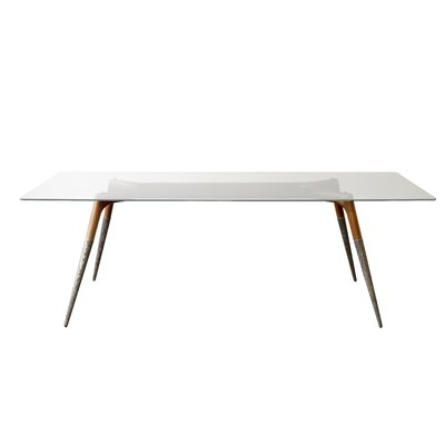 Dibenedetto Dining Table Size: 29.8 H x 39.8 W x 86.8 L
