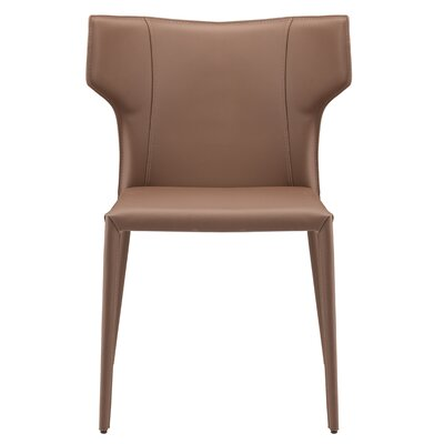 Wilfried Stackable Upholstered Dining Chair Upholstery Color: Mink