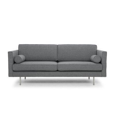 Tristin Sofa Upholstery: Gray Tweed