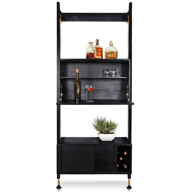 Lowes Shelving Unit Bar with Storage