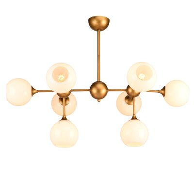 Harish 8-Light Sputnik Chandelier