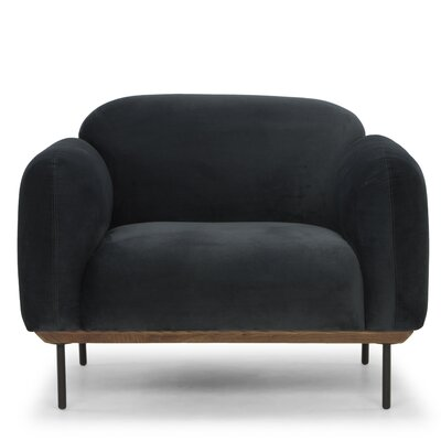 Uriel Armchair Upholstery: Shadow Gray