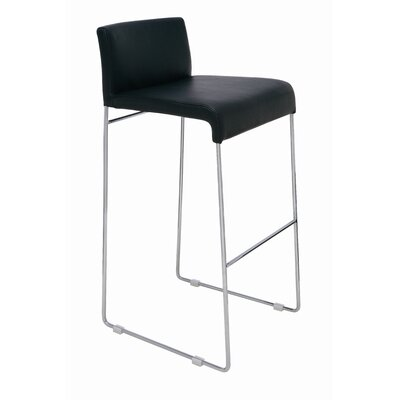 Easy financing Nina Bar Stool Color: White...