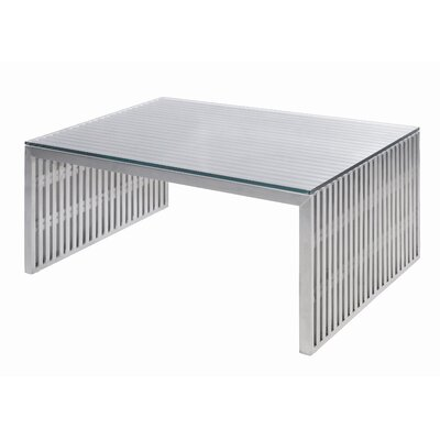 Buy Low Price Nuevo Amici Coffee Table In Silver Nvo1370 Coffee Table Bargain