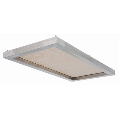 Cloud Flush Mount Size: 24 W x 48 D
