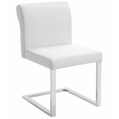 Bruno Parsons Chair Upholstery: White