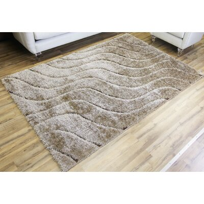 Unique Home Beige Area Rug Rug Size: Runner 27 x 77