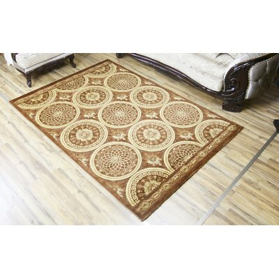 Shonil Brown/Beige Area Rug Rug Size: Rectangle 710 x 102