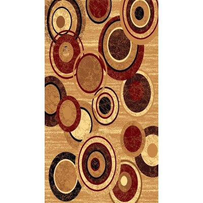 Kayra Beige Area Rug Rug Size: 53 x 611