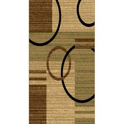 Kayra Green Area Rug Rug Size: 53 x 611