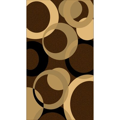 Kayra Brown Area Rug Rug Size: 53 x 611