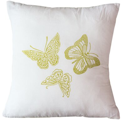 Butterflies Indoor/Outdoor Throw Pillow Size: 16 H x 16 W