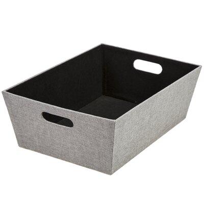 Storage Bin Size: 5.25 H x 11 W, Color: Sand Dunes