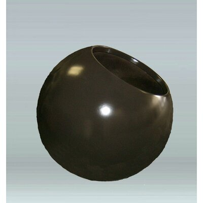 Round Pot Planter Color: Earth Red 1EJ-3028-PD-13