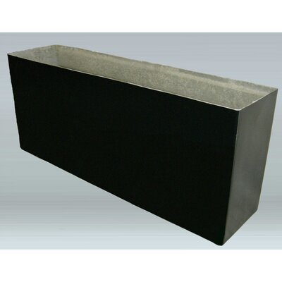Allied Molded Products Rimless Rectangle Planter - Color: Mauve Dust