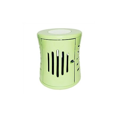 ZenHaus Modern Pet Crate Size: Small ( 22 H x 20 W x 28 L), Color: Mint