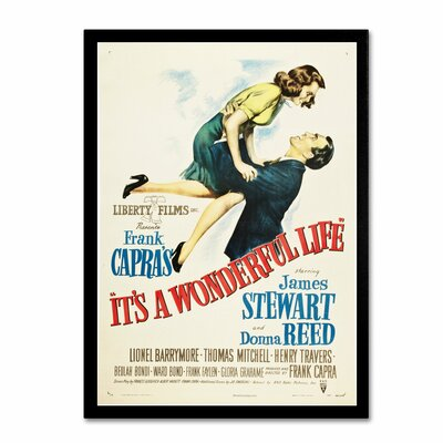 "Apple ""It's a Wonderful Life"" Vintage Advertisement on Canvas Size: 19"" H x 14"" W x 2"" D ALI0234-C1419GG"