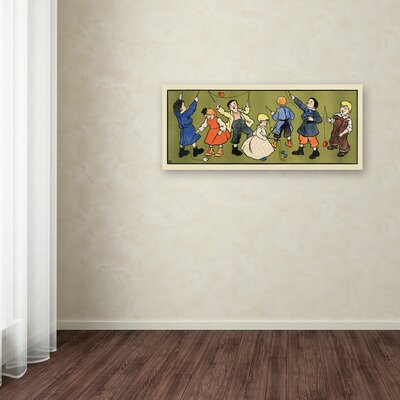"Children's Panel - Boys"" Graphic Art on Wrapped Canvas Size: 14"" H x 32"" W x 2"" D ALI0310-C1432GG"
